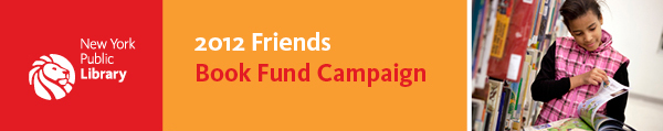 Friends Spring 12 Book Fund